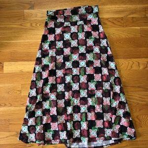 LuLaRoe Large Maxi skirt